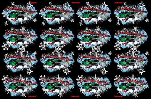 CRASHING THROUGH THE SNOW-GIFT WRAP 12-Pack Sale