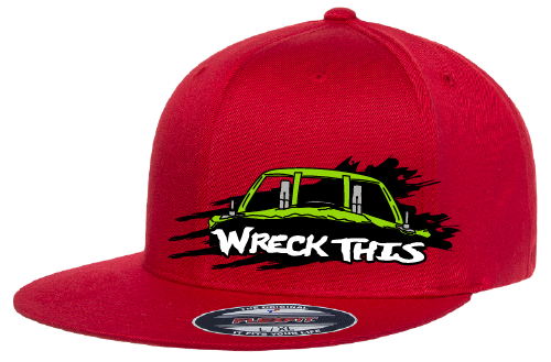 Wreck This Derby Car Hat-Flatbill