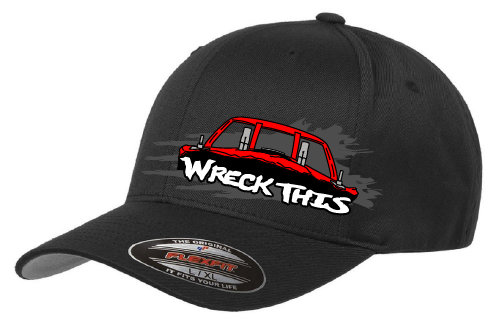 Wreck This Derby Car Hat-Structured