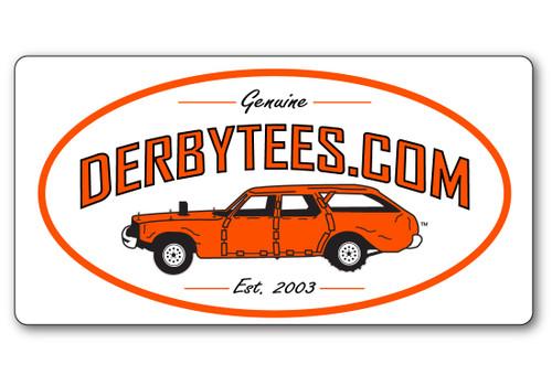 Genuine Derbytees.com Decal