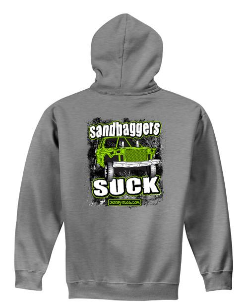 Sandbaggers Suck Hoodie-Grey