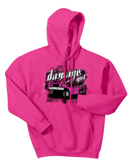 Cute With Sass Hoodie-Pink