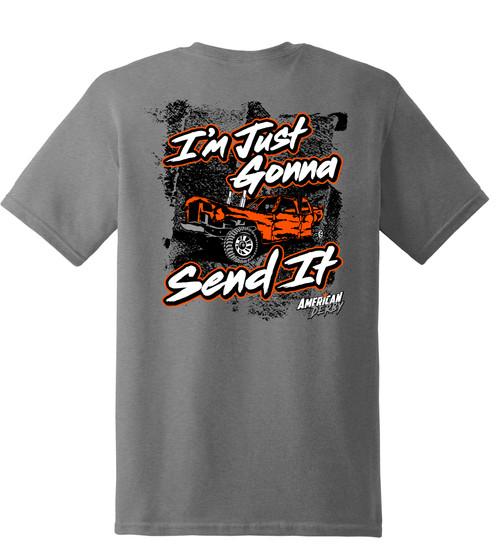 Gonna Send It Tee w/Orange