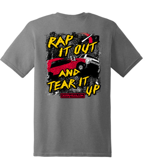 Rap It Out Tee - CLEARANCE
