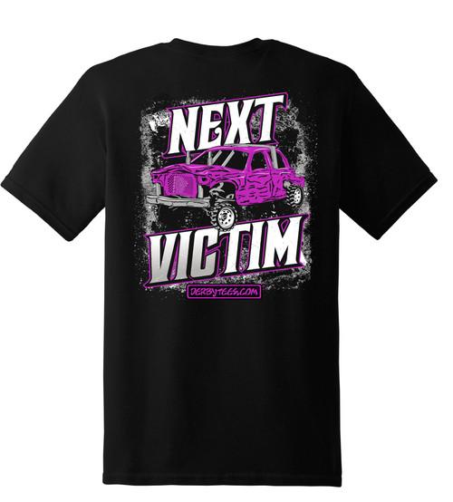 Next Victim Tee W/ Purple
