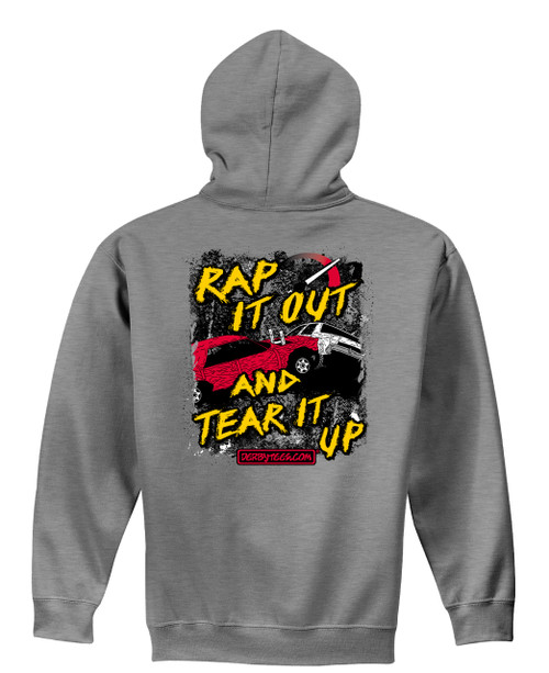 Rap It Out Hoodie - CLEARANCE