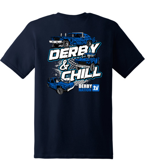 Derby & Chill Tee - CLEARANCE