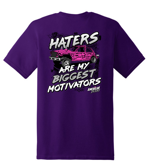 Haters Purple KIDS Tee