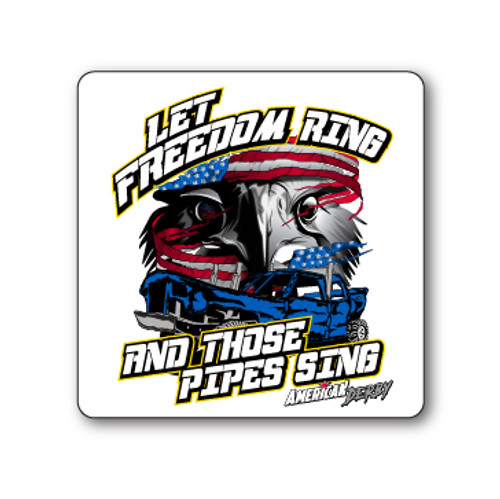 Freedom Ring Sticker