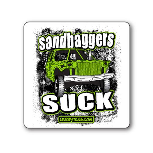 Sandbaggers Suck Sticker