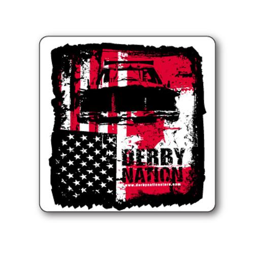 Derby Nation Sticker
