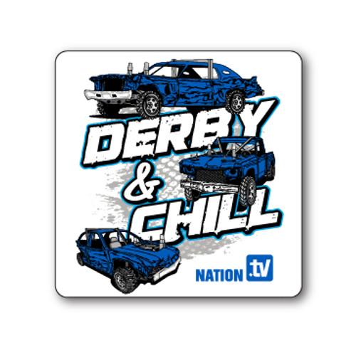 Derby & Chill Sticker