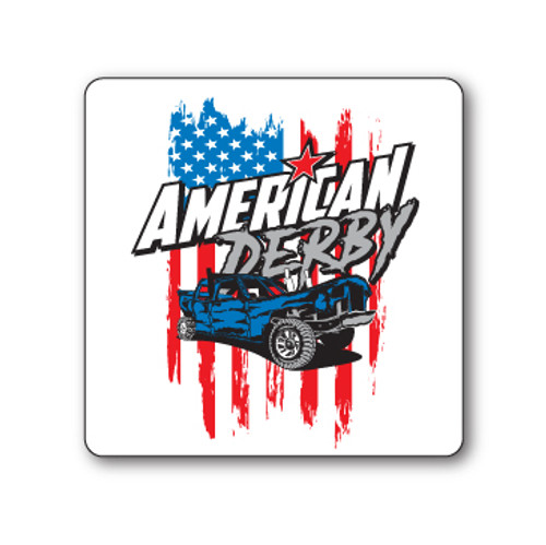 American Derby Sticker