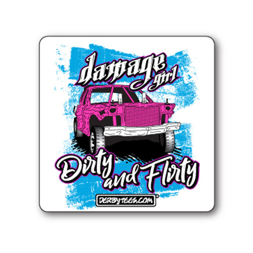 Dirty & Flirty Sticker
