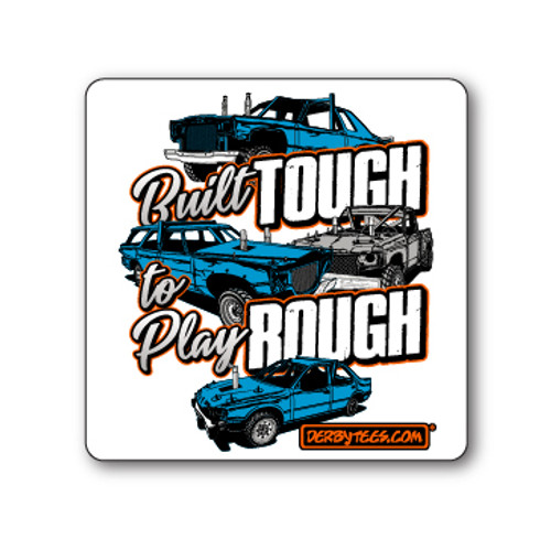 NEW Built Tough Sticker