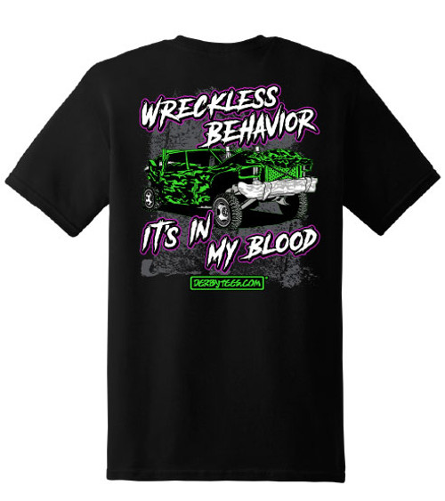 Wreckless Behavior Tee - NEW!