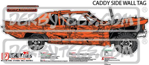Caddy Side Premium Wall Tag