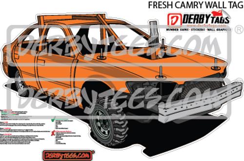 Fresh Camry Premium Wall Tag