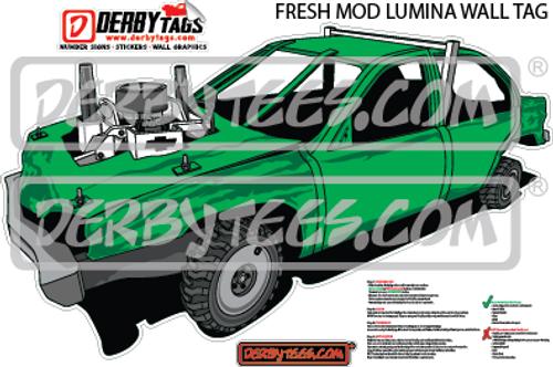 Fresh Mod Lumina Premium Wall Tag
