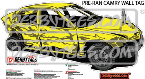 Pre-Ran Camry Premium Wall Tag