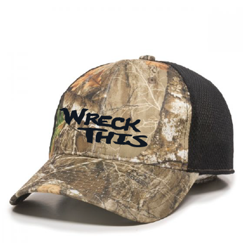 Wreck This Stealth Hat - Mesh