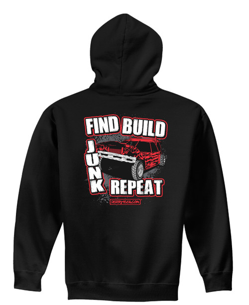 Find Build Junk Hoodie NEW!