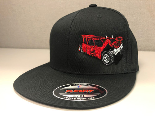 Mangled Wagon Fitted Hat