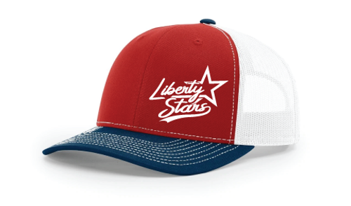 Liberty Stars Embroidered Hats: $15-$20