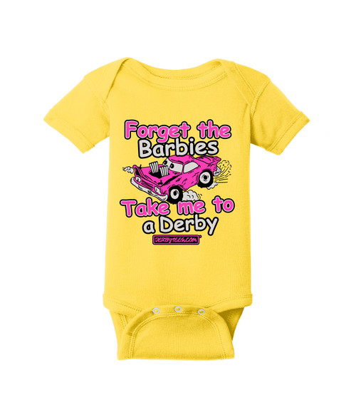 Forget the Barbies Tee (Daisy Yellow)