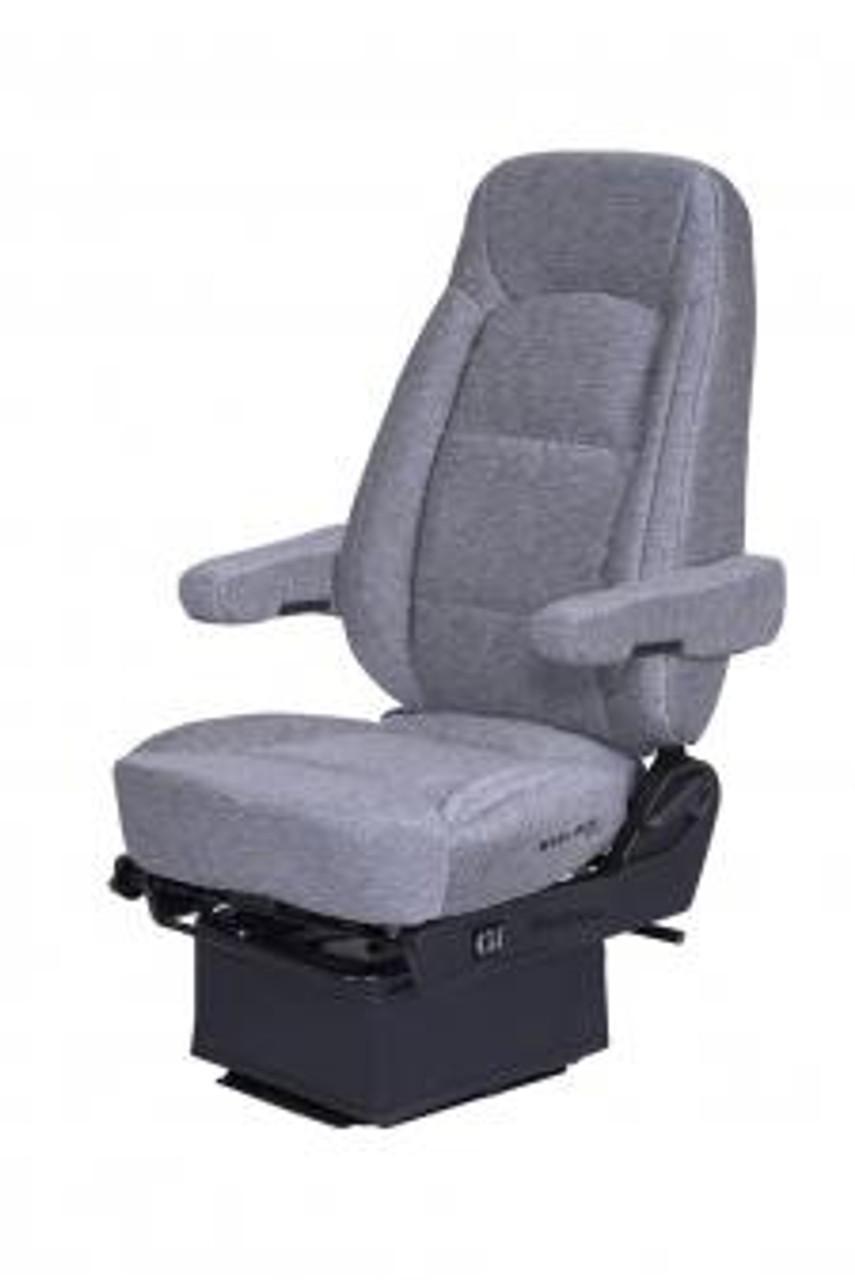 Bostrom Wide Ride Core- Low Pro Hi-Back (Gray Cloth)