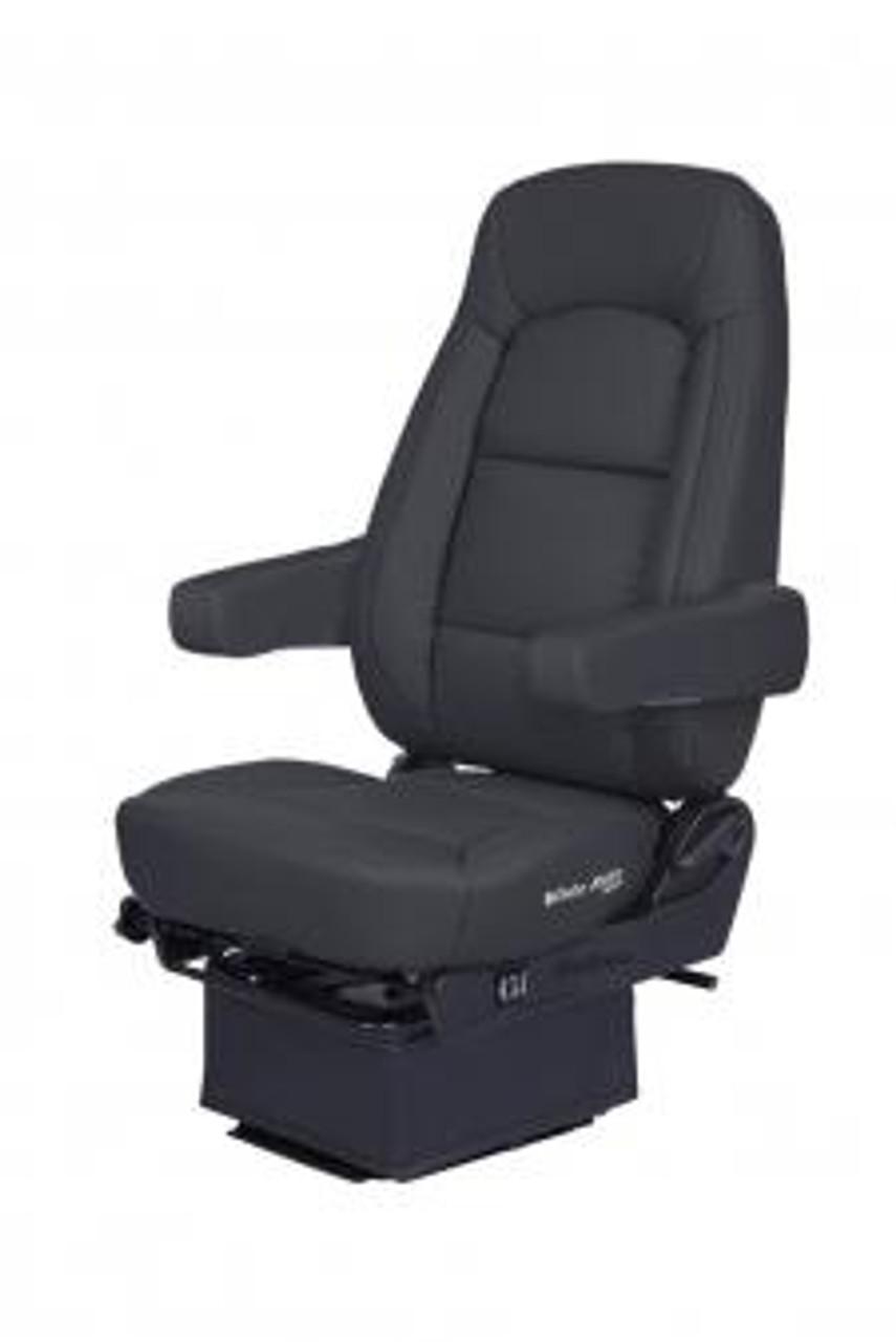 Bostrom Wide Ride Core- Lo Pro, Hi-Back (Black Leather)