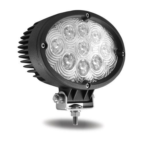 "Trux Accessories 6"" Universal Oval LED Spot Work Lamp: TLED-U7"