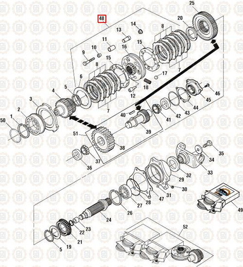 PAI Industries Synchronizer Assembly for Mack: PAI2504