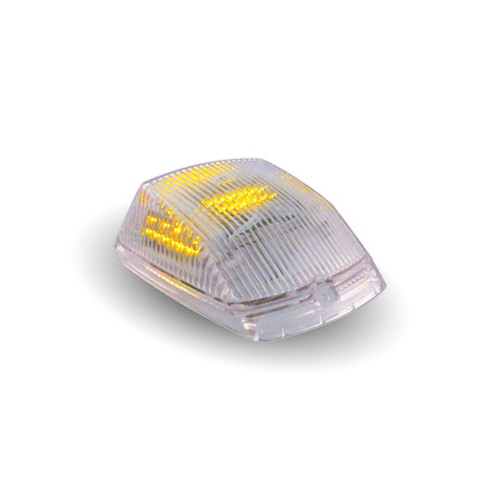 Trux Clear Amber Marker LED Square Cab Light: TLED-CABC