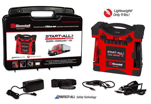 Goodall Start-All Lithium-Ion 10,000 Amp 12V Jump Pack #JP-12-10000