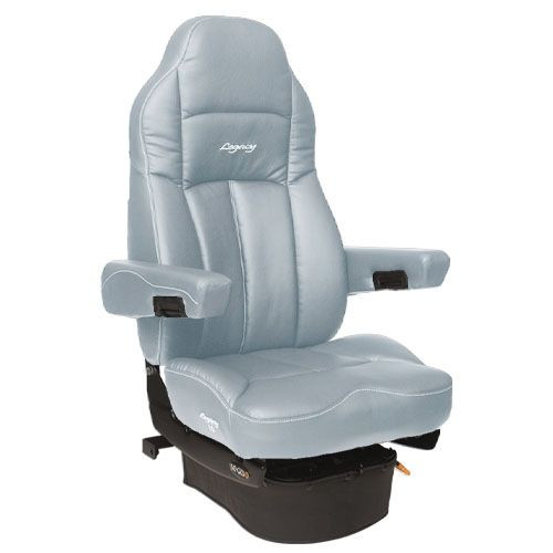 Legacy Truck Seat- Gray Duraleather -Low Rider