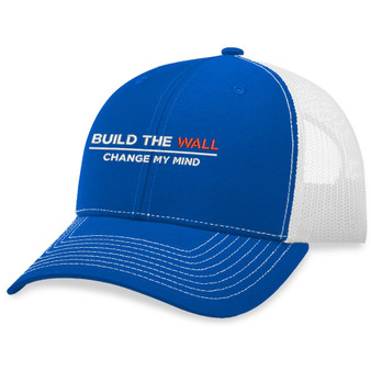 Build The Wall Change My Mind Hat