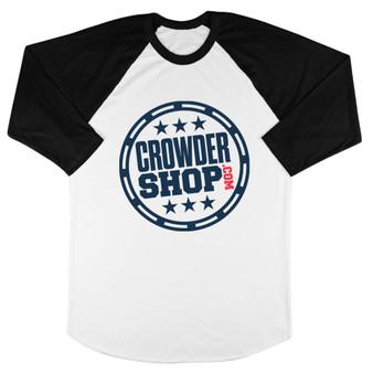 Crowder Shop Logo Baseball Tee
