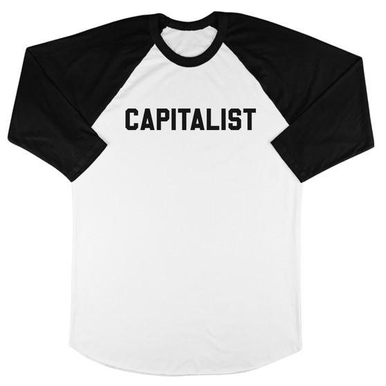 CAPITALIST Baseball Tee