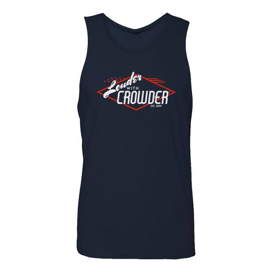 Louder With Crowder Vintage Men's Tank Top