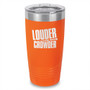 Louder With Crowder Laser Etched Tumbler