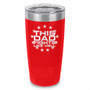 This Dad Fights Like Hell Laser Etched Tumbler