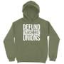 Defund Teachers Union Hoodie