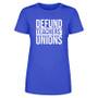 Defund Teachers Union Women's Apparel
