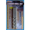 "1/4"" Carbide Drill Bits - 3 Pack"