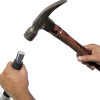 "Heavy Duty Scraper 12"" Hammer Handle 4"" Reversible Blade"