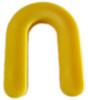 "3/16"" Horseshoe Shim Yellow 110/JAR"
