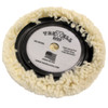 "9"" Premium Wool Polishing Buffing Pad with Centering Ring"