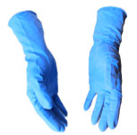 Heavy Duty Latex Disposable Gloves - 15 MIL