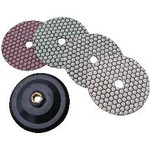 "4"" Diamond Stone Polishing Set with Attachment"